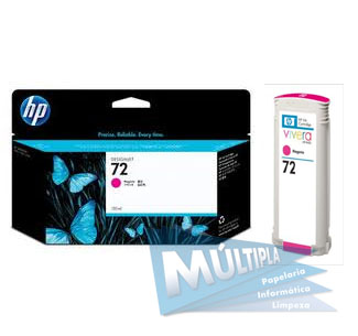 CARTUCHO TINTA C9372A MAGENTA 130ML (72) HP