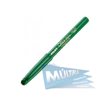 CANETA PONTA POROSA VERDE OFFICE PEN 2.0MM PILOT