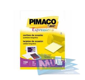 ETIQUETA ADESIVA INKJET E LASER A4248 17,0X31,0MM BRANCA CX 2400UN PIMACO