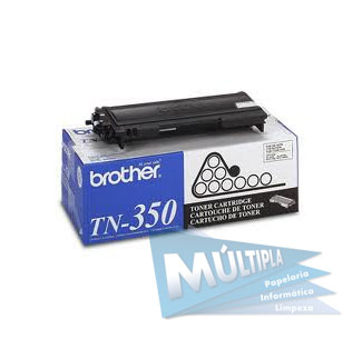 TONER TN 350 PRETO BROTHER