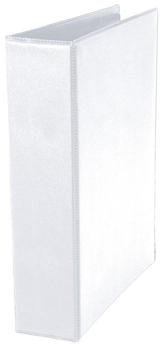 FICHARIO UNIV OF 4 ARG BRANCO C/PVC CRISTAL 4CM 7060 DAC