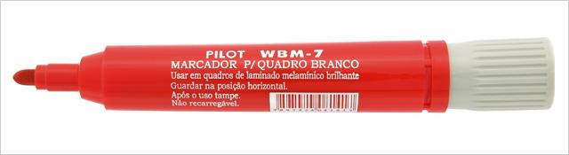 MARCADOR QUADRO BRANCO VERMELHO WBM-7 PILOT