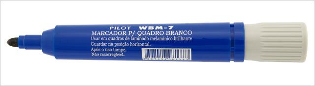 MARCADOR QUADRO BRANCO AZUL WBM-7 PILOT