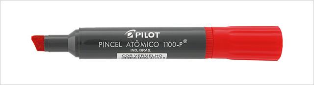 PINCEL MARCADOR PERMANENTE ATOMICO VERMELHO 1100 P PILOT