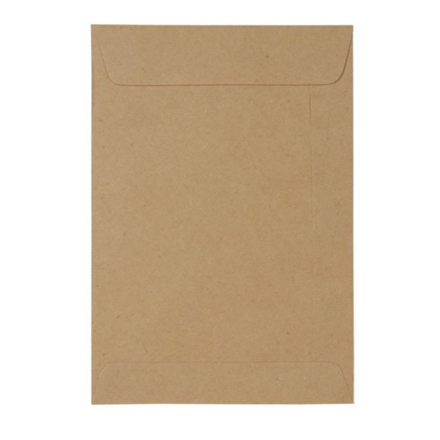 ENVELOPE SACO KRAFT NATURAL 80G 185X248MM 10UN SCRITY