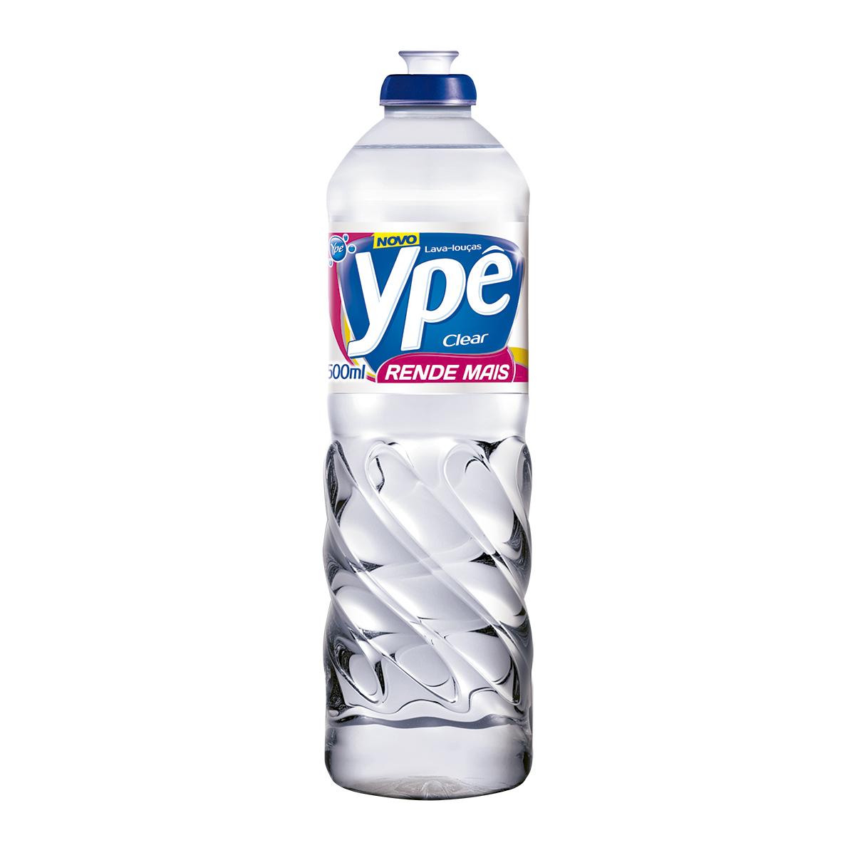 DETERGENTE CLEAR 500ML YPE