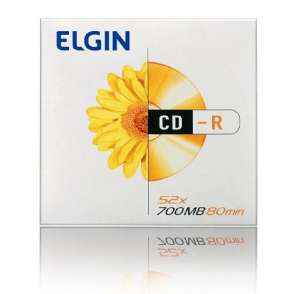CD-R 700MB 52X 80MIN ENVELOPE ELGIN