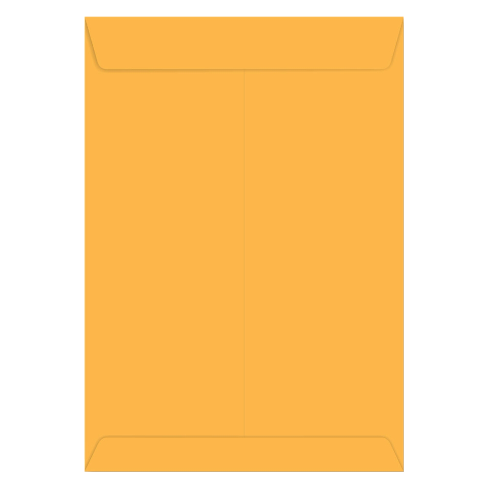 ENVELOPE SACO KRAFT OURO 80G 260X360MM 10UN SCRITY