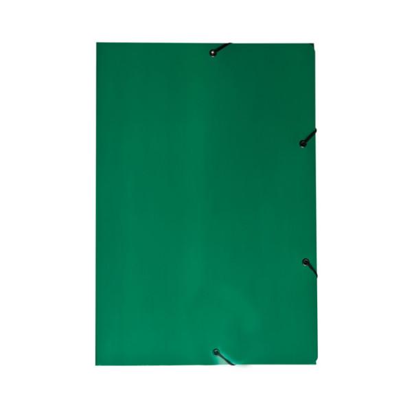 PASTA ABA/ELASTICO CT DUPLEX PLASTIFICADA VERDE JUSSARA