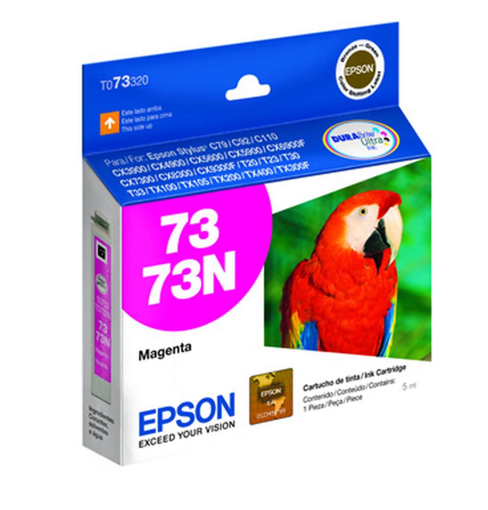 CARTUCHO TINTA TO73320 MAGENTA 5ML 380 PAG EPSON