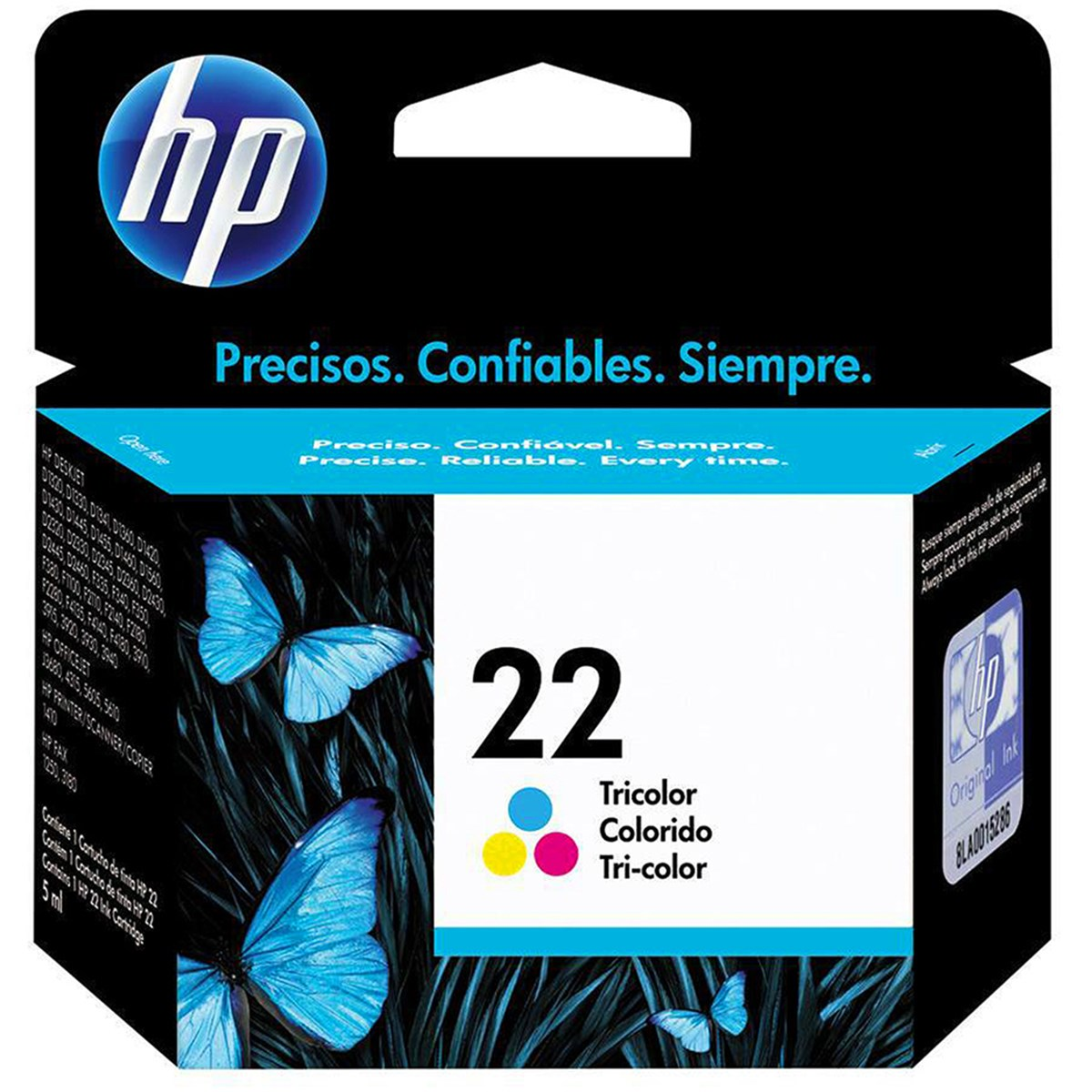 CARTUCHO TINTA C9352AB COLOR 22 HP