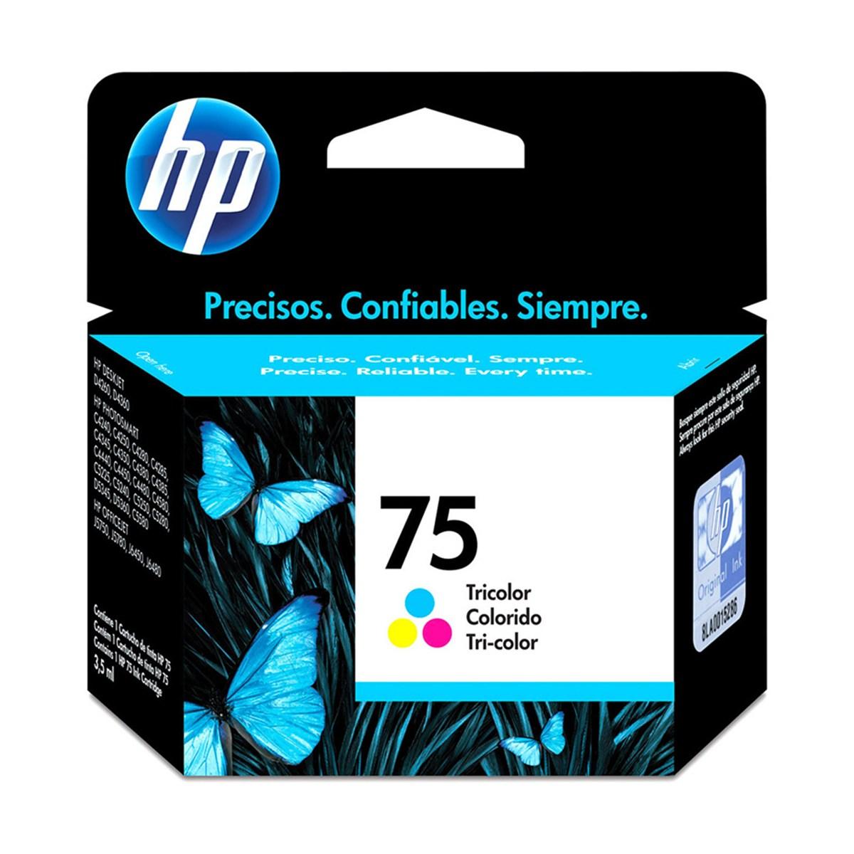 CARTUCHO TINTA CB337WB COLOR 3,5ML (75) HP