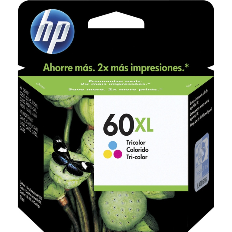 CARTUCHO TINTA CC644WB COLOR 60XL HP