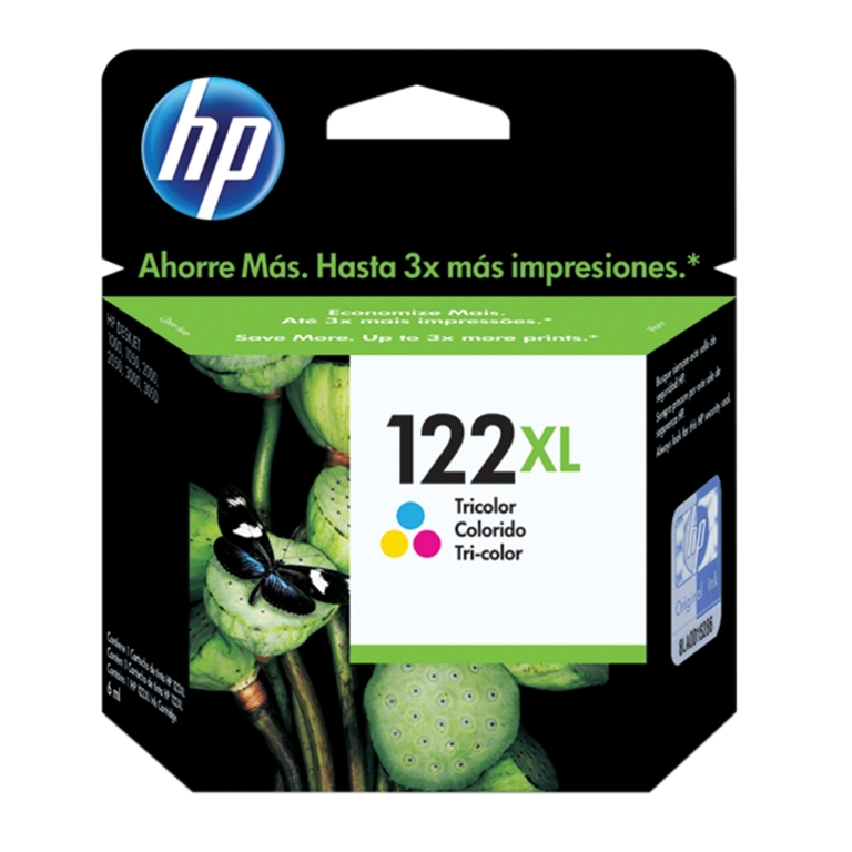 CARTUCHO TINTA CH564HB COLOR 122XL HP