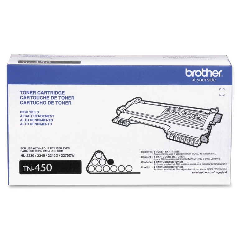 TONER TN 450 2.600 PAG BROTHER