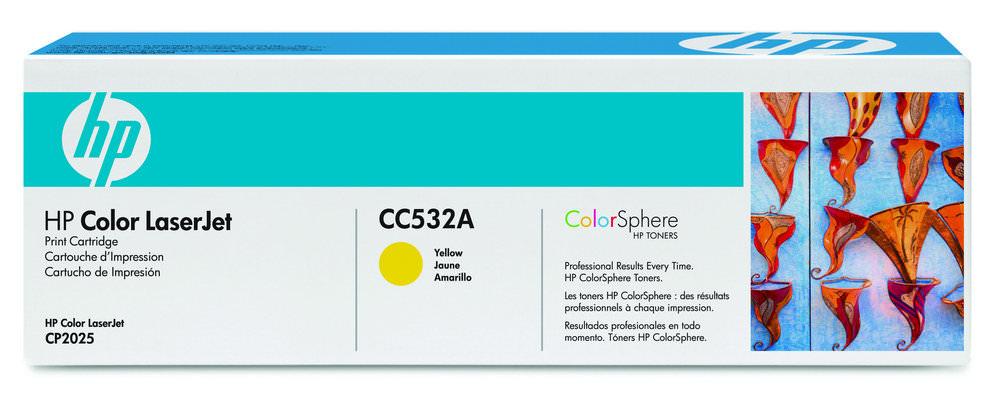 TONER CC532A AMARELO 2.800 PAG HP