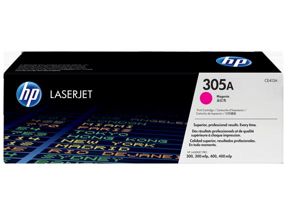 TONER CE413A MAGENTA 2.600 PAG HP