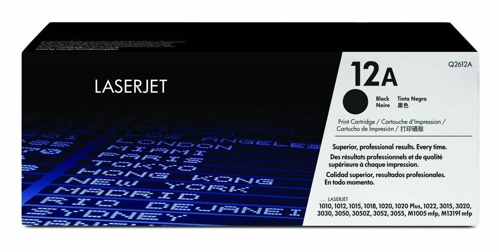 TONER Q2612A PRETO 12A HP