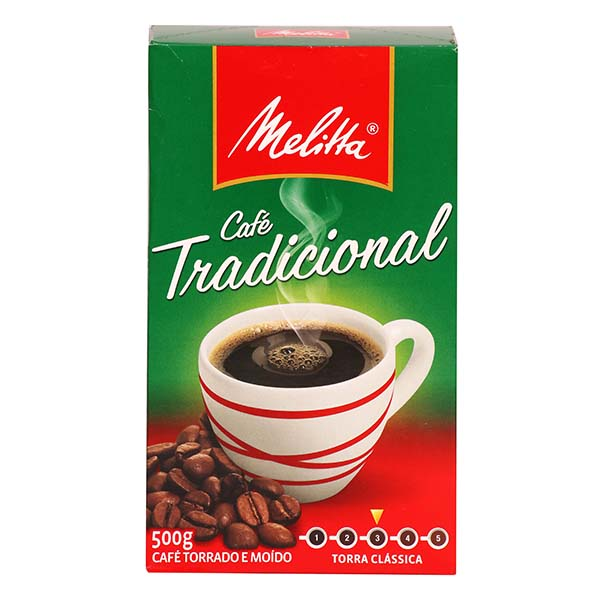 CAFE MOIDO TRADICIONAL 500G VACUO MELITTA