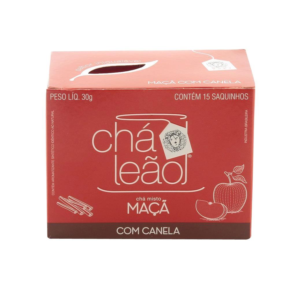 CHA MACA COM CANELA 15 ENVELOPES LEAO