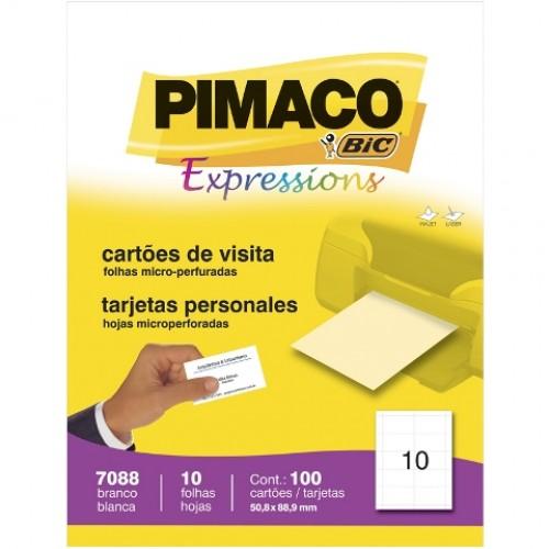 CARTAO VISITA 180G 100UN 7088 PIMACO