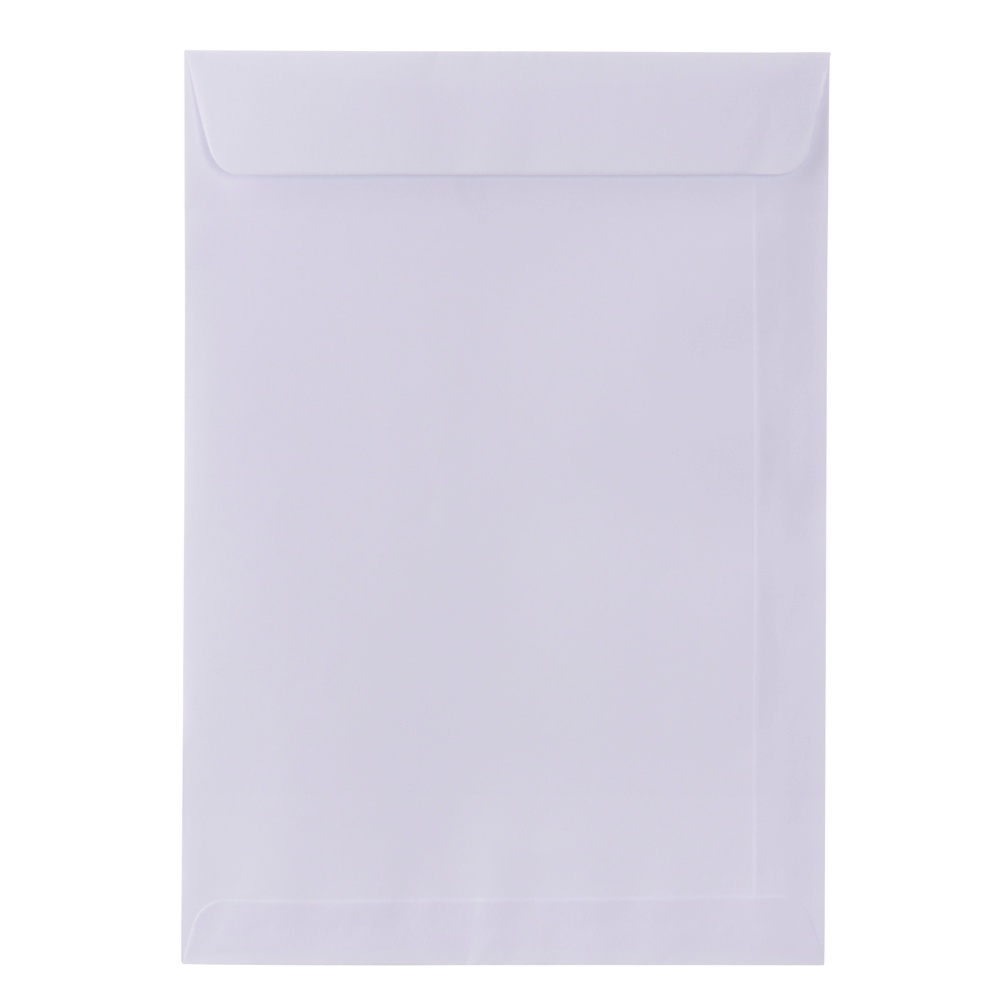 ENVELOPE SACO OFF SET BRANCO 90G 370X470MM 10UN SCRITY