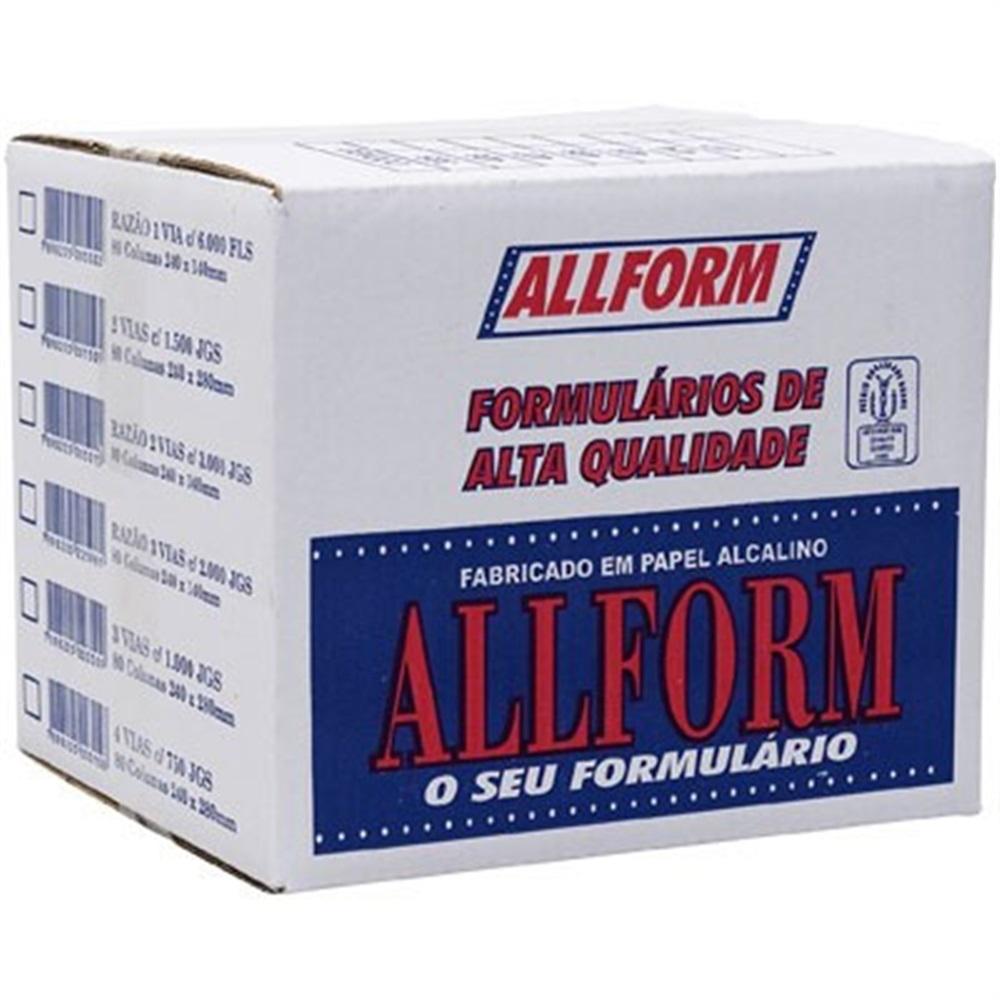 FORM BRANCO 80COL 03V 1000JG 409 ALOFORM