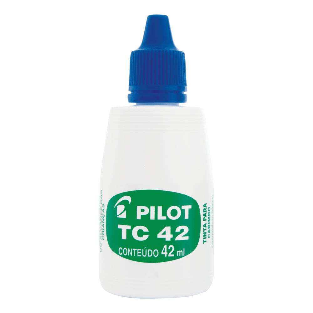 TINTA CARIMBO AZUL 42ML PILOT