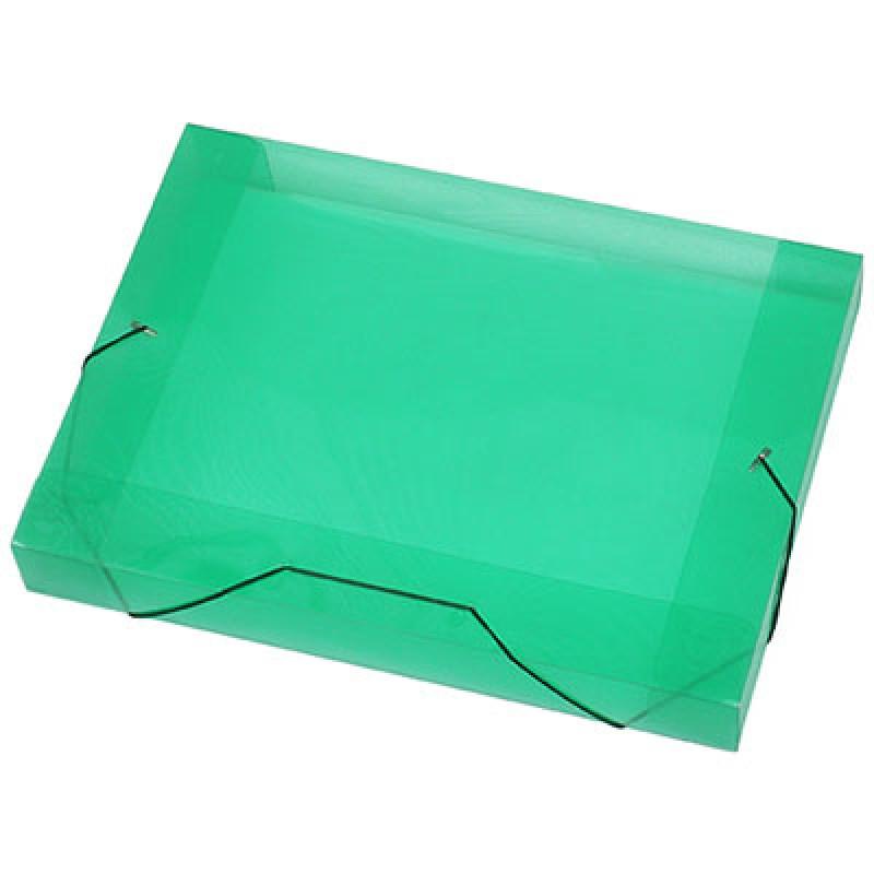 PASTA ABA/ELASTICO PLASTICA OF VERDE 40MM