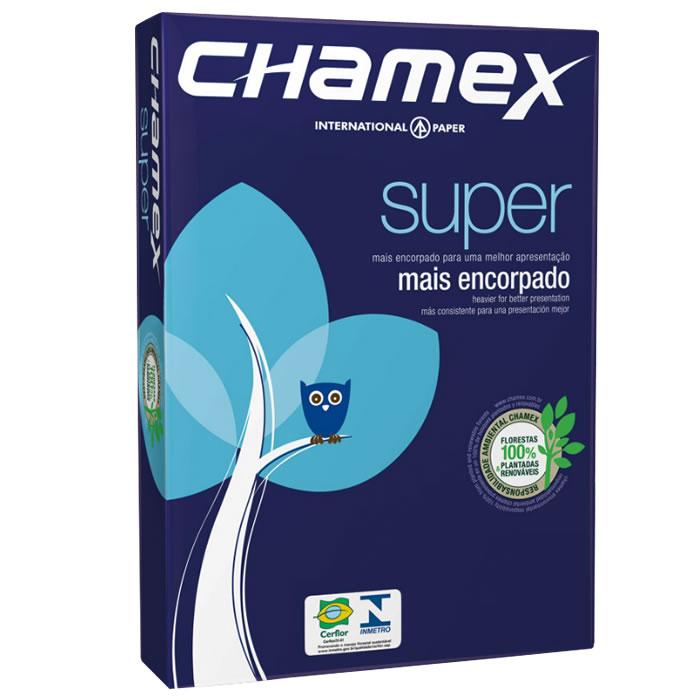 PAPEL CARTA (216X279MM) BRANCO 90G 500FL CHAMEX