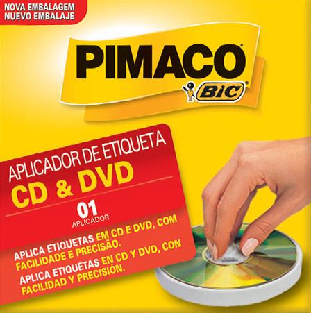 APLICADOR ETIQUETAS EM CD PIMACO