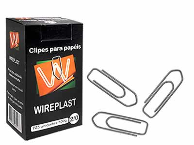 CLIPS 2/0 GALVANIZADO 500G WIREPLAST
