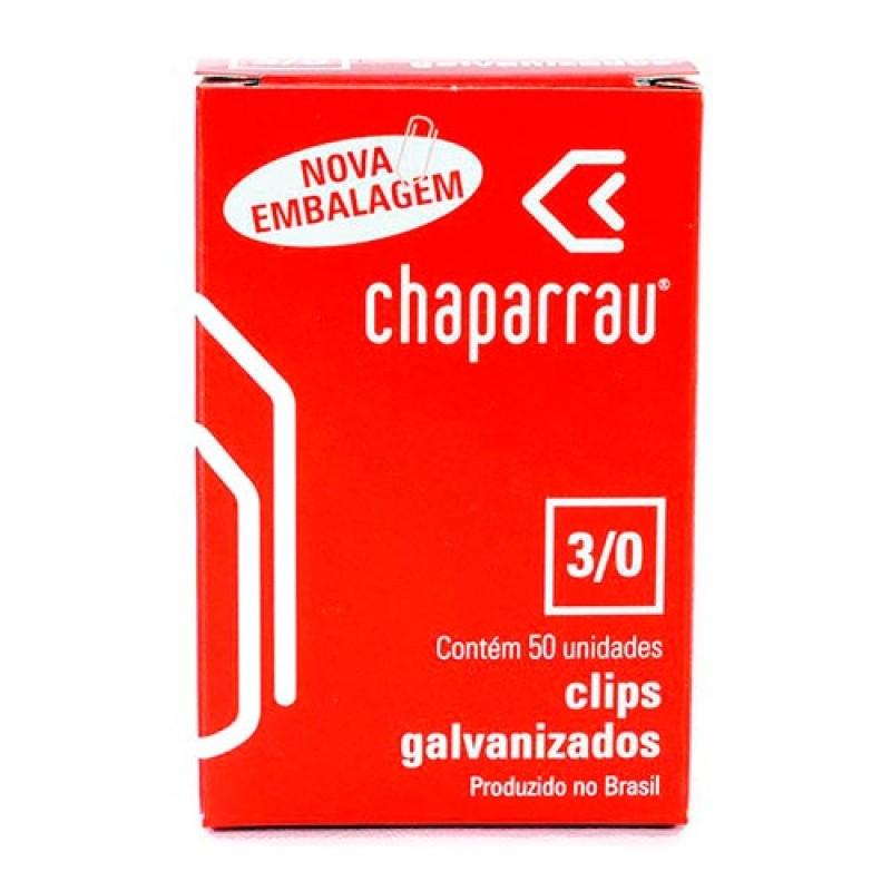 CLIPS Nº 3/0 GALVANIZADO 50UN CHAPARRAU