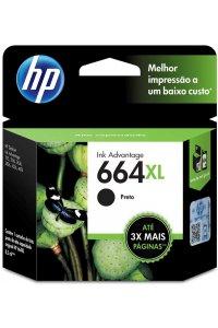 CARTUCHO TINTA F6V31AB PRETO 664XL HP