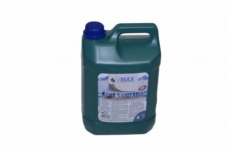AGUA SANITARIA CLORO ATIVO 2,0 A 2,5% 5L VMAX