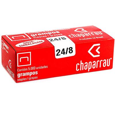 GRAMPO 24/8 ENAK GALVANIZADO 5000UN CHAPARRAU