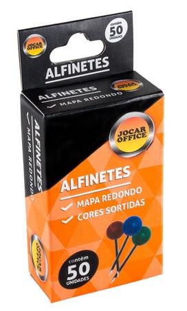 ALFINETE PARA MAPA CORES SORTIDAS 50UN 93034 JOCAR