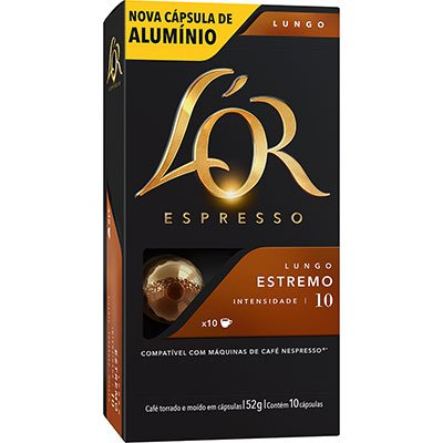 CAFE EM CAPSULA ESTREMO 10UN LOR