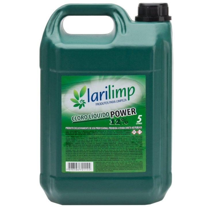 CLORO PRONTO PARA USO 12% 5L LARILIMP