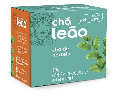 CHA HORTELA SACHE 1G 10UN LEAO