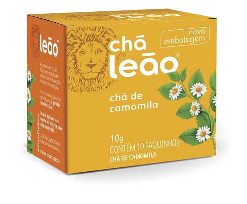 CHA CAMOMILA SACHE 1G 10UN LEAO