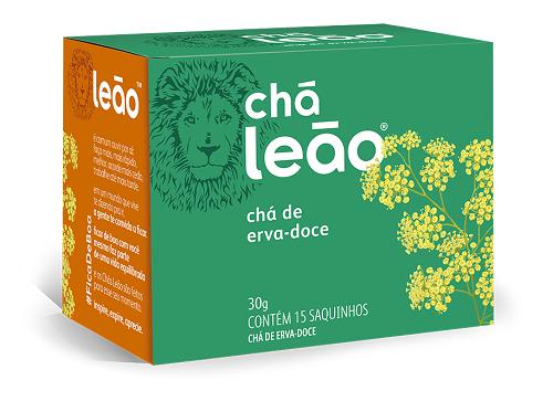 CHA ERVA DOCE SACHE 2G 15 ENVELOPES LEAO