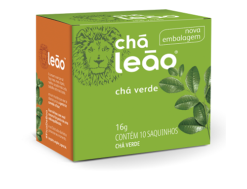 CHA VERDE SACHE 1,6G 10 ENVELOPES LEAO