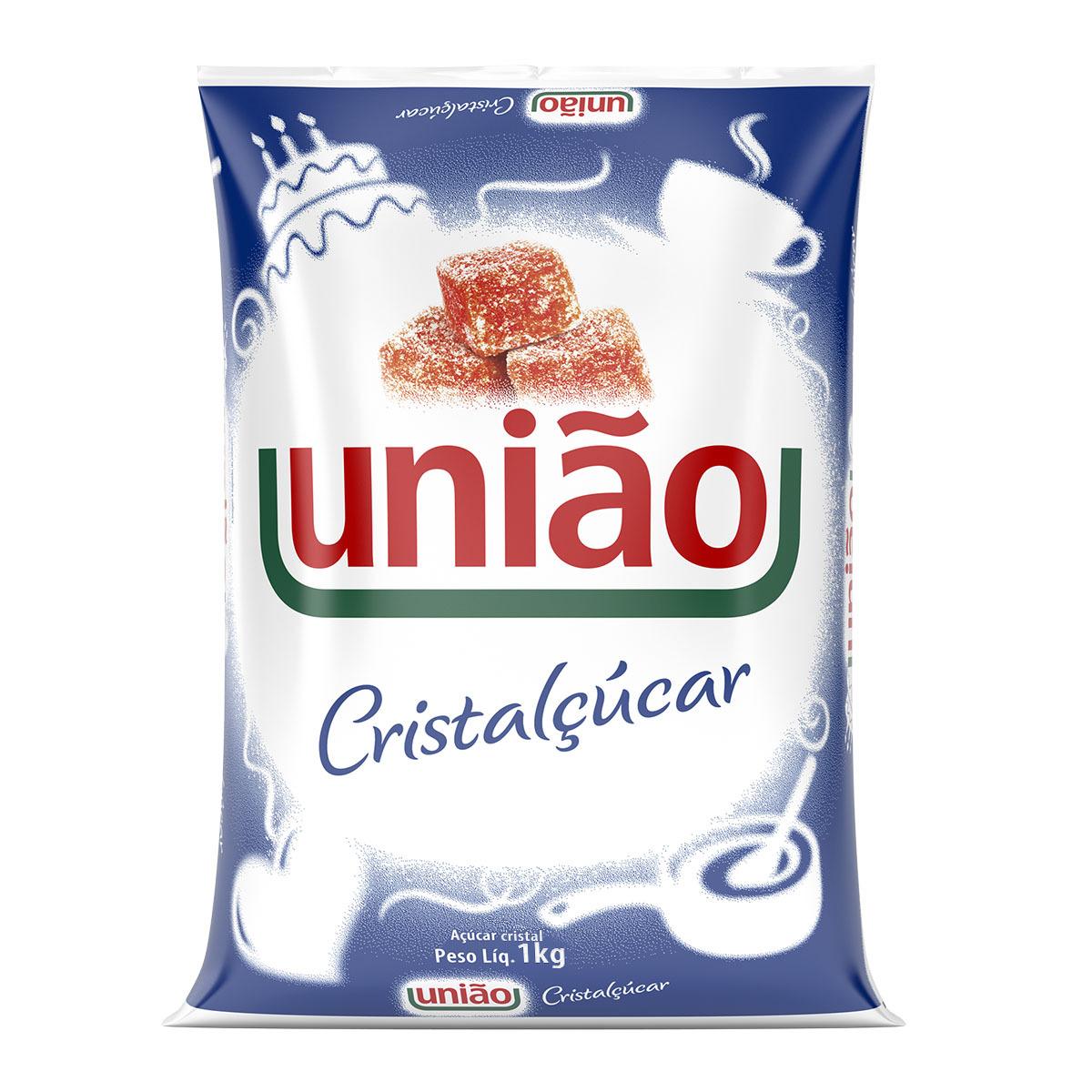 ACUCAR CRISTAL 1KG CRISTALCUCAR UNIAO
