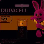 BATERIA ALCALINA 3V DL123 DURACELL